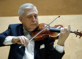 Виртуозният цигулар Ангел Станков е с баташки корени