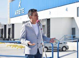 Чакаме Бойко Борисов за откриването на нова база на Ариете Логистикс