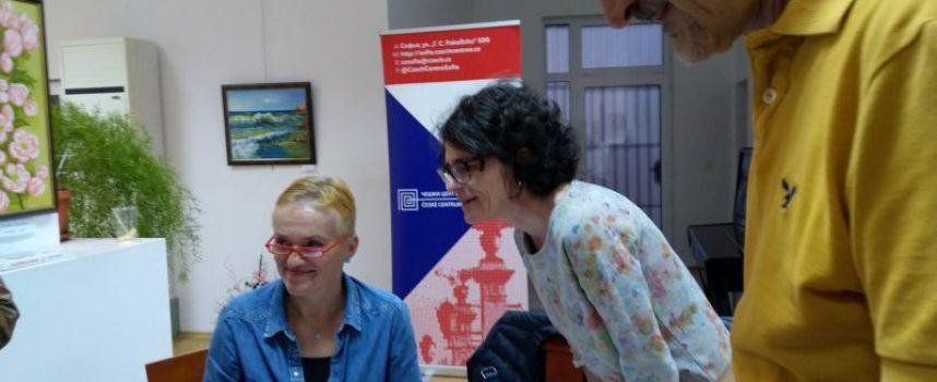 Пещера: Чешката писателка Тереза Боучкова се срещна с читатели