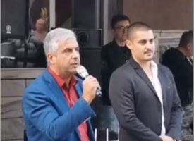 Орхан Мурад агитира на турски за ВМРО в Пещера