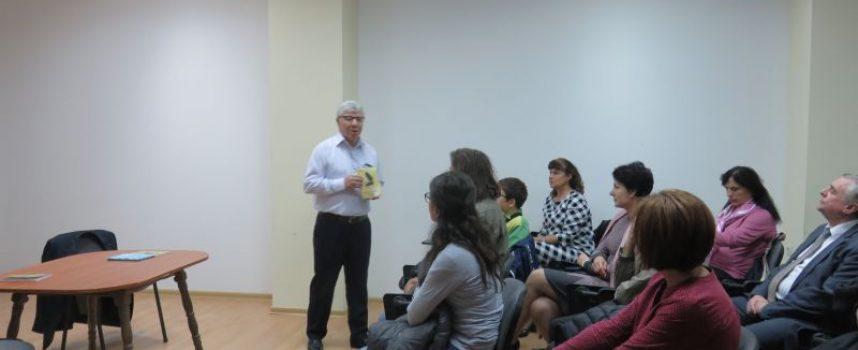 """Боян Ангелов представи """"В търсене на философския камък"""" на Костадин Пампов"""