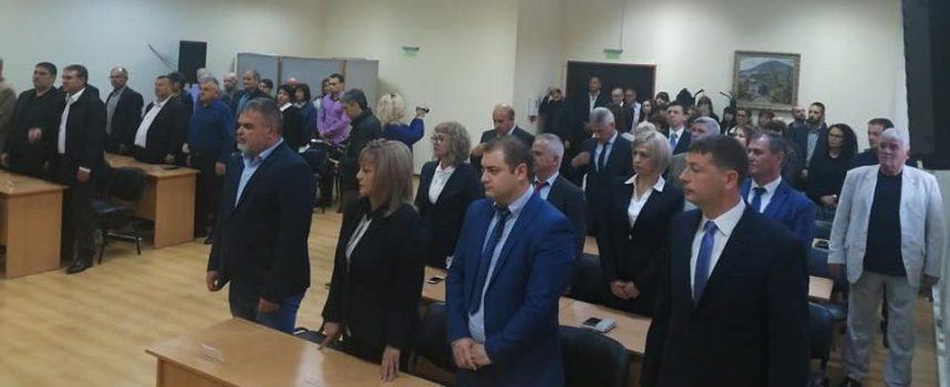 Кмет и общински съветници в Панагюрище встъпиха в длъжност