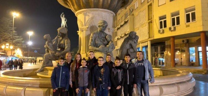 9 медала за учениците от Спортното в Скопие