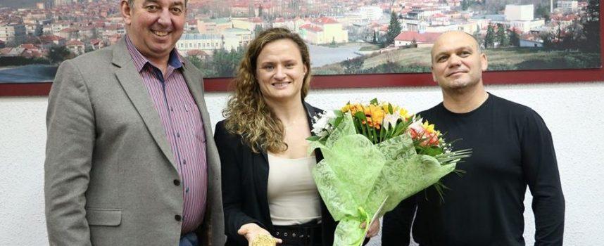 """Панагюрище: Мария Оряшкова посети """"Асарел-Медет"""" АД"""