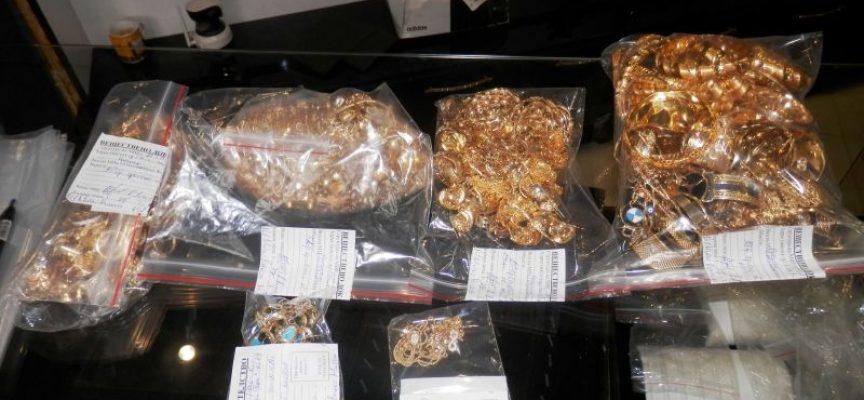 Полицията иззе 2.5 кг. злато в кв. Изток