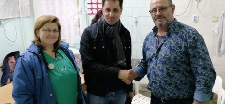 """""""Сърце за България"""" дари мобилен електрокардиограф на Спешна помощ"""