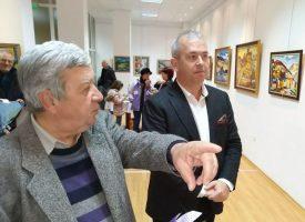 Васил Величков откри своя самостоятелна изложба в Пещера