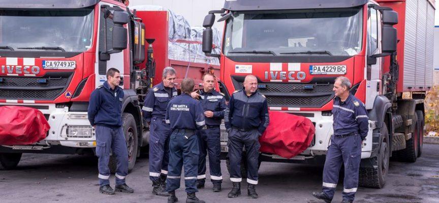 Пазарджишки пожарникари заминават за Албания, ще помагат на пострадалите