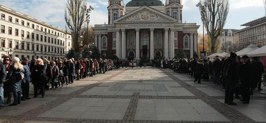 Десетки жители на областта се поклониха на Стефан Данаилов