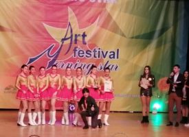 """Две първи места за мажоретките от """"МЕГА"""" от международния фестивал на изкуствата """"Утринна звезда"""""""