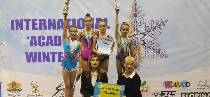 """В края на годината: Злато и сребро за """"Диляна Прима"""" от турнира за зимна купа """"Академик"""""""
