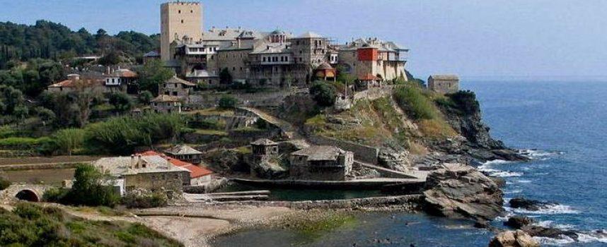 Откриха кости на жена във византийски храм на Света гора