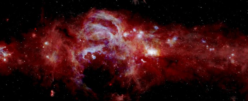 НАСА погледна в сърцето на Млечния път, вижте как
