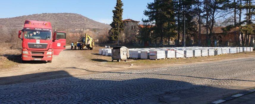Първа копка на рехабилитацията на главната улица в Бошуля бе направена днес