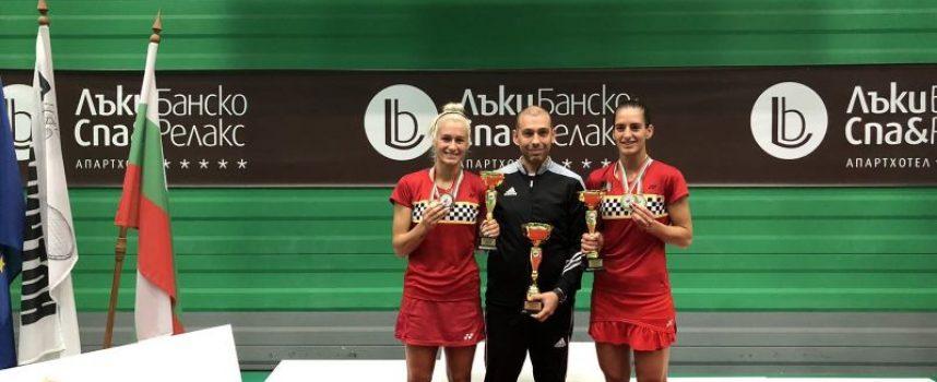 Стефани и Габриела Стоеви – Държавни шампионки на България по бадминтон