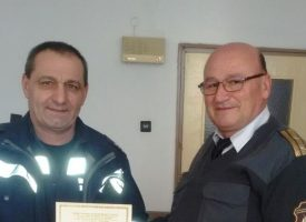 Мъже на честта: Пожарникари получиха награда за човечност и професионализъм