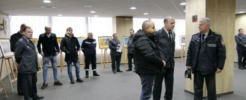 """Септември: Младши инспектор Александър Генчин получи награда за """"Пожарникар на годината"""""""