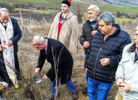 Йордан Младенов пожела берекет на лозарите в Радилово и Капитан Димитриево