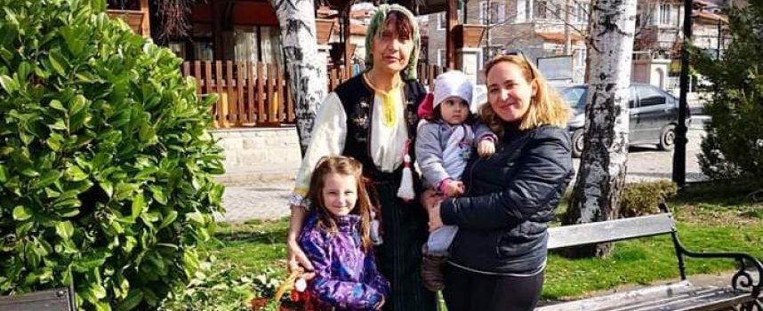 Баба Марта събра на центъра деца и възрастни в Брацигово