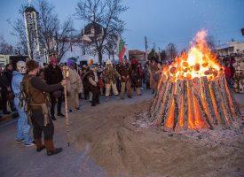 Септемврийци отбелязаха в аванс днешния празник Сирни заговезни