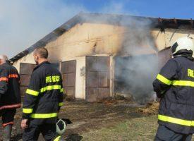 Пожар лумна в Бошуля: Септемврийските пожарникари спасиха от сигурна смърт 85 крави