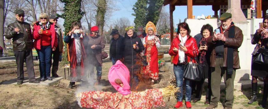 Руската общност в Пазарджик се събра и отбеляза Масленица