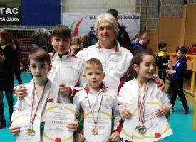 """8 медала за """"Тонус – спорт"""" от Националното първенство по Шотокан Карате До"""