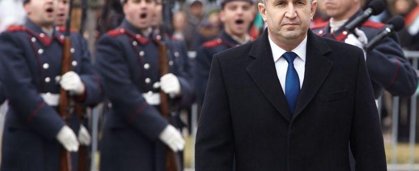 Румен Радев: На този връх хиляди достойни българи, отстояваха историческата памет с разум и със сърцата си