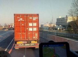 Опашка от 65 км свързва австро-унгарската граница с Виена