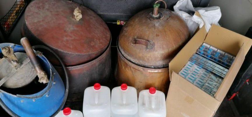 Панагюрище: Задържаха нелегални цигари и алкохол