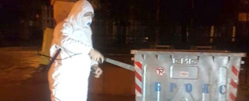 """Дезинфектират всички контейнери тип """"Бобър"""" в общината"""