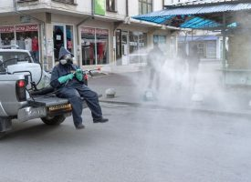 Общината: Продължаваме да дезинфекцираме обществени пространства в Пазарджик