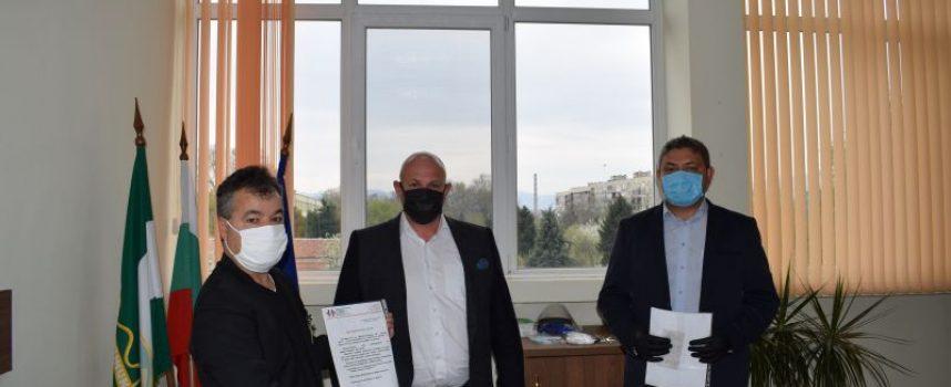 2000 лв. дариха беловци за МБАЛ – Пазарджик