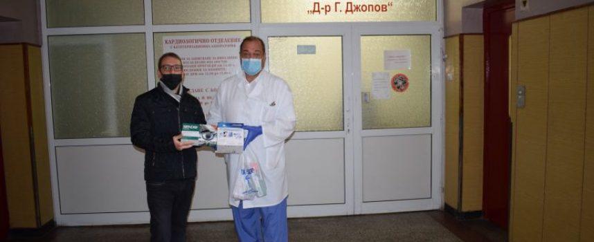 Нови дарения постъпиха в МБАЛ – Пазарджик