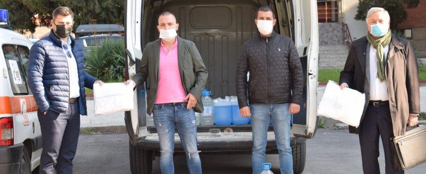 Спас Спасов и Благовест Гогов подкрепиха благотворителната кампания на Ротари клуб – Пазарджик
