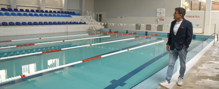 Тодор Попов: Плувният басейн в Пазарджик отваря врати в понеделник