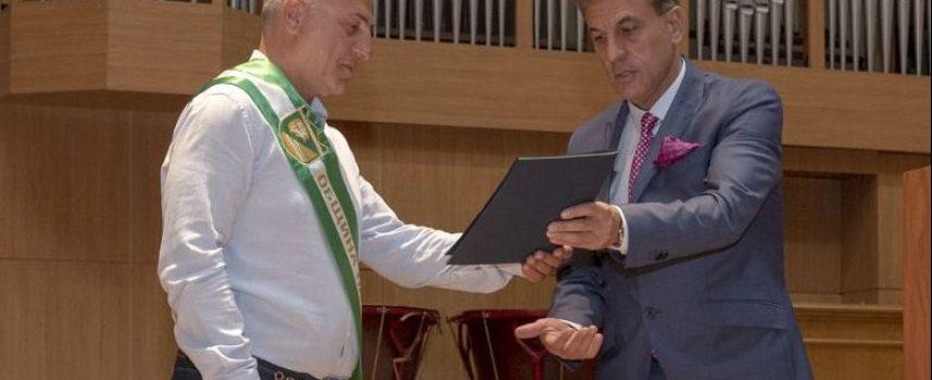 На тържествена сесия: Борислав Гидиков бе удостоен за Почетен гражданин на Пазарджик