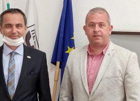 Кметът на Пещера се срещна с Генералния консул на Турция в Пловдив