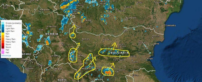 Едра градушка очакват в Родопите