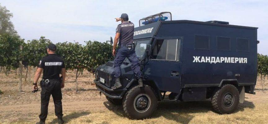 Жандармерия охранява селата в областта