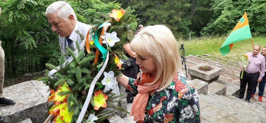 97 години от смъртта на Александър Стамболийски бяха отбелязани днес на Янини грамади