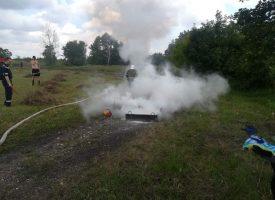 Пожарната: Не палете сухи треви и стърнища, за две седмици имаме 78 пожара