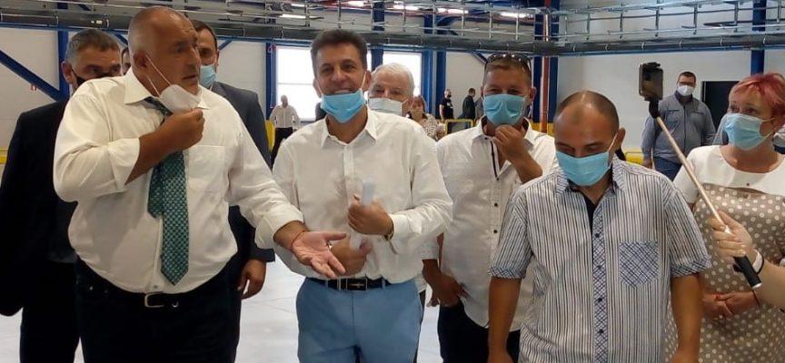 Тодор Попов: Нови фирми ще дойдат да инвестират в Пазарджик, Костал изцяло се позиционира в града