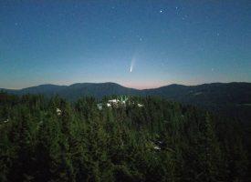 Вдигни очи: Ярка комета в небето ще ни радва нощем
