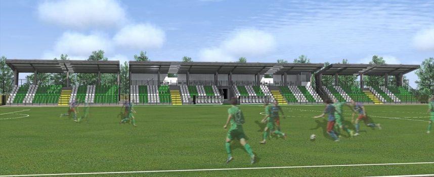 """Нови 500 седящи места правят на стадион """"Г.Бенковски"""""""