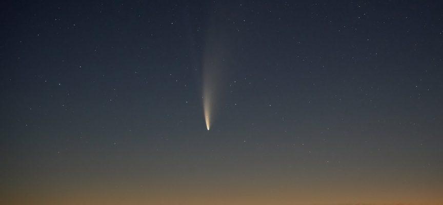 Тази нощ последна възможност да видите кометата NEOWISE