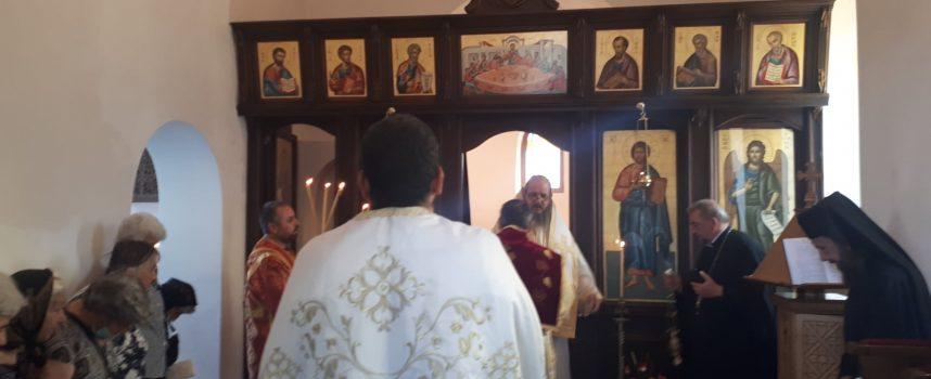 Служба в болничния параклис в чест на Свети Панталеймон