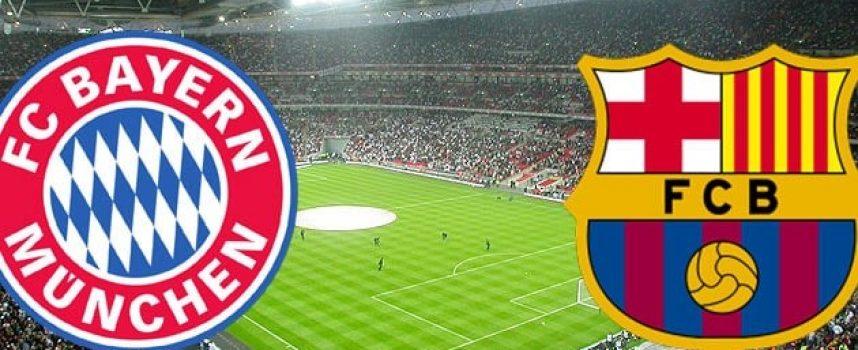 Какво да очакваме от супер сблъсъка в Шампионска лига между Барселона и Байерн