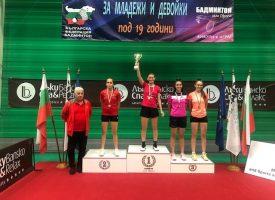 Гергана Павлова – абсолютен шампион в бадминтона при девойките под 19 години