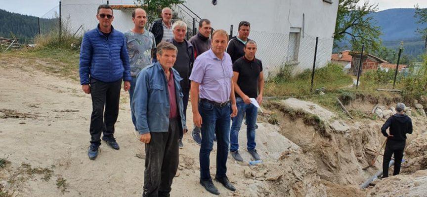 Община Сърница реновира и водопровода в Горелци